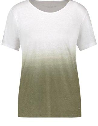 1/2 Arm Shirt Dip Dye Grün 36/S