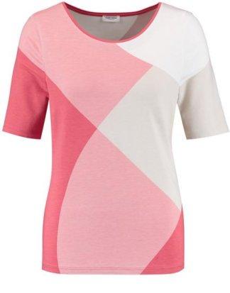 1/2 Arm Shirt mit Colourblocking Pink 36/S