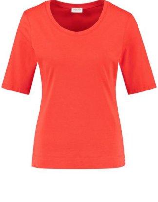 1/2 Arm Shirt organic cotton Rot 36/S