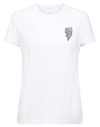 2Ndday T-Shirt Days, Rundhals, gerader Schnitt weiß