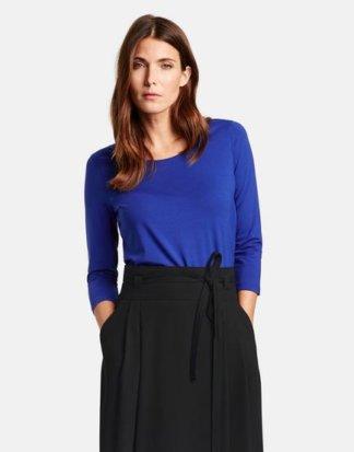 3/4 Arm Shirt Basic Blau 36/S Mindestbestellwert von 29 € erforderlich