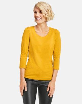 3/4 Arm Shirt Basic Gelb 40/M Mindestbestellwert von 29 € erforderlich