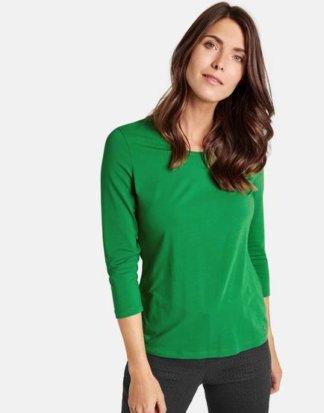 3/4 Arm Shirt Basic Grün 38/S Mindestbestellwert von 29 € erforderlich