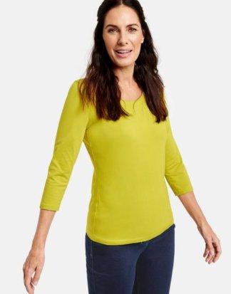 3/4 Arm Shirt Basic Grün 42/M Mindestbestellwert von 29 € erforderlich