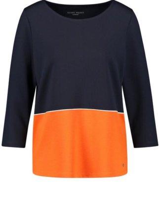 3/4 Arm Shirt Kontrast Mehrfarbig 42/M
