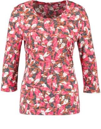 3/4 Arm Shirt mit Ausbrenneroptik Pink 36/S