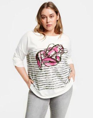 3/4 Arm Shirt mit Lobster-Print XL