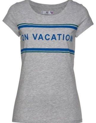 AJC T-Shirt mit angesagtem Front-Print