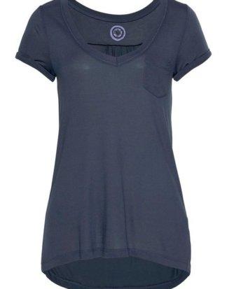 AJC T-Shirt mit hinten verlängertem Rückenteil
