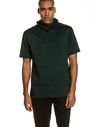 Adidas Funktions-Shirt, Kapuze, Regular Fit schwarz