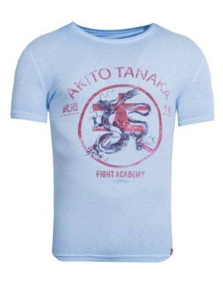"Akito Tanaka Print-Shirt ""Fight Academy"" mit Logo Druck"
