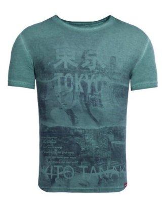 """Akito Tanaka Print-Shirt """"Geisha Beloved"""" mit Collagen Druck"""