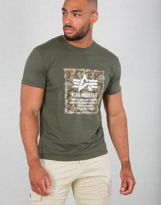 "Alpha Industries T-Shirt ""Camo Block T"""