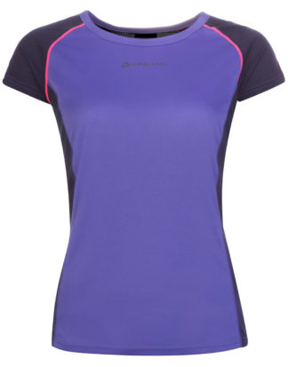 Alpine PRO T-Shirt, Rundhals, Slim-fit lila