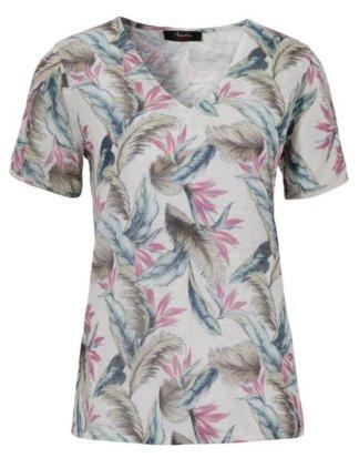 Aniston CASUAL T-Shirt mit Cut-out Schultern - NEUE KOLLEKTION