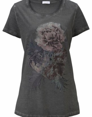 Aniston CASUAL T-Shirt mit Oil dyed-Waschung