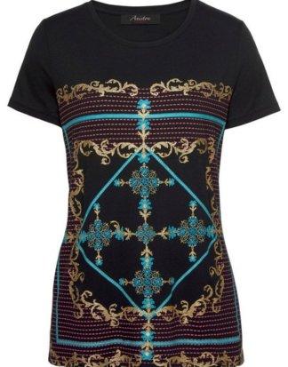 Aniston CASUAL T-Shirt mit Ornament Druck