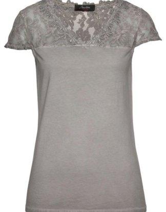 Aniston CASUAL T-Shirt mit Spitze