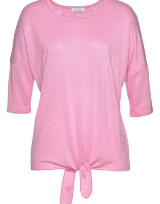 Aniston by BAUR T-Shirt vorne zum Binden