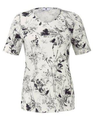"""Anna Aura T-Shirt """"mit Blumenmuster mit Rispen"""""""