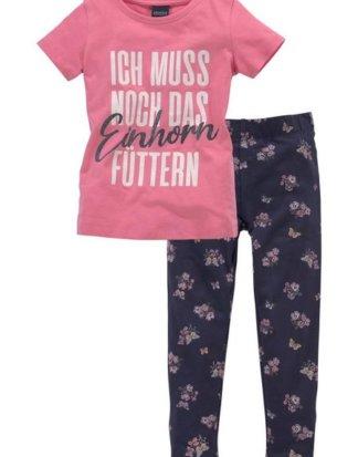 Arizona Shirt & Leggings (Set) mit Einhorn - Spruch