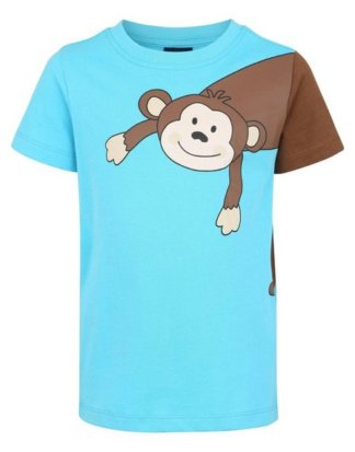 "Arizona T-Shirt ""Affe"" Druck und Applikation"