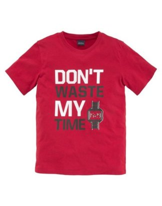 Arizona T-Shirt Don`t waste my time, Druck