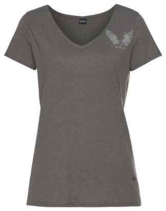 "Arizona V-Shirt ""Rückenprint mit Straßsteinen"""