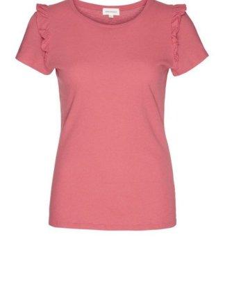 "Armedangels T-Shirt ""PILAAR Damen T-Shirt aus Bio-Baumwolle mit Leinen"" GOTS, made with organic, CERES-08"