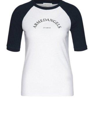 "Armedangels T-Shirt ""POLINAA IT`S ON US Damen T-Shirt aus Bio-Baumwoll Mix"" GOTS, organic, CERES-08"