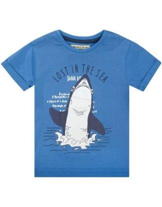 BASEFIELD T-Shirt mit großem Druck