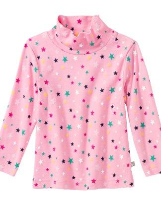 Baby-Mädchen-Shirt mit Sternenmuster