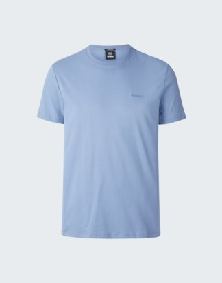 Baumwoll-T-Shirt Clark, pastellblau