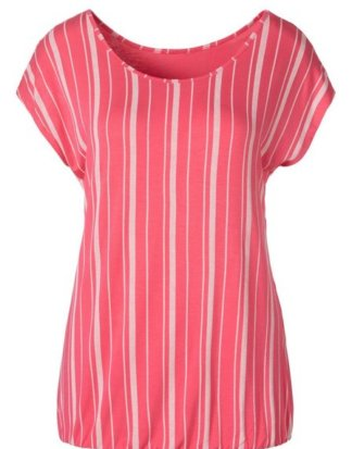 Beachtime T-Shirt mit modischem Streifen