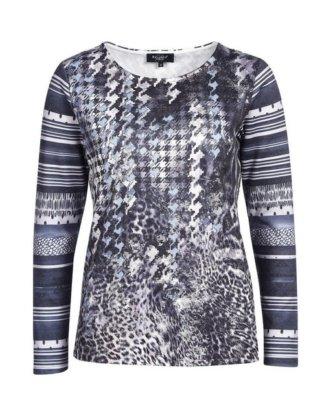 Bexleys woman T-Shirt mit Alloverprint