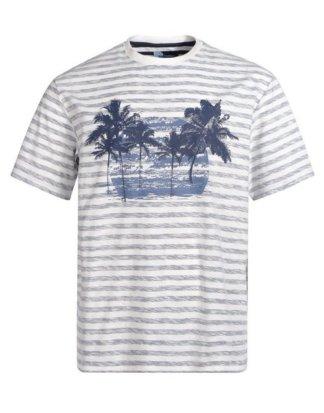 Big fashion T-Shirt mit modischem Frontdruck