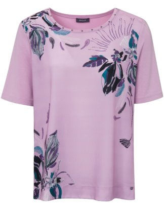 Blusen-Shirt 1/2-Arm Basler lila Größe: 36