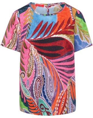 Blusen-Shirt 1/2-Arm Laura Biagiotti Roma mehrfarbig Größe: 34