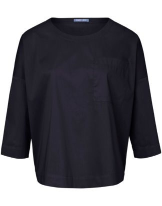 Blusen-Shirt 3/4-Arm DAY.LIKE blau Größe: 36