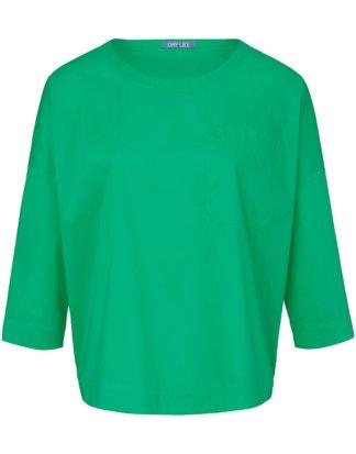 Blusen-Shirt 3/4-Arm DAY.LIKE grün Größe: 36