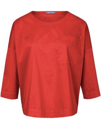 Blusen-Shirt 3/4-Arm DAY.LIKE orange Größe: 36