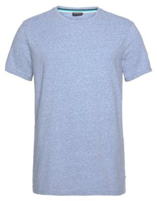 Bruno Banani T-Shirt melierte Optik