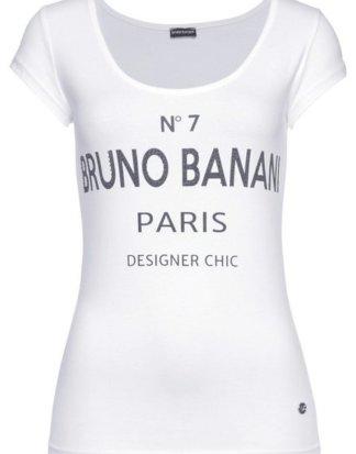 Bruno Banani T-Shirt mit Statement-Print