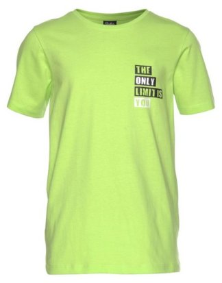 Buffalo T-Shirt mit Rücken- und Brustdruck
