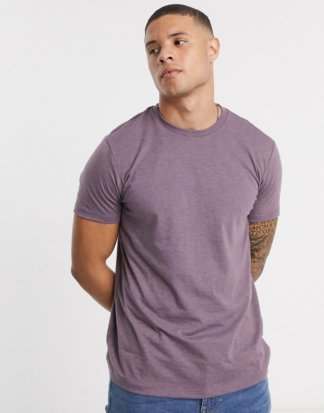 Burton Menswear - T-Shirt in Flieder-Violett