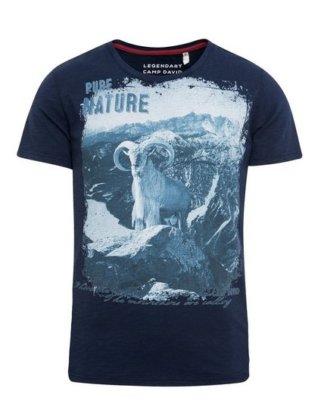 CAMP DAVID T-Shirt aus Baumwolle