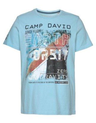 CAMP DAVID T-Shirt mit Frontprint