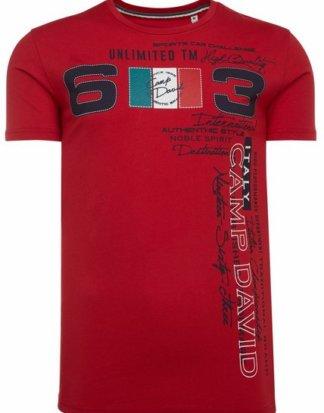 CAMP DAVID T-Shirt mit Print