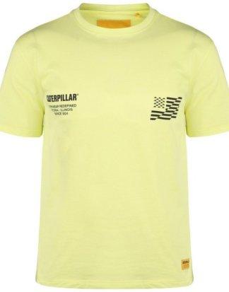 """CATERPILLAR T-Shirt """"Caterpillar B-w Flag"""""""