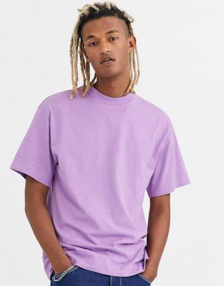 COLLUSION - T-Shirt in Flieder-Violett